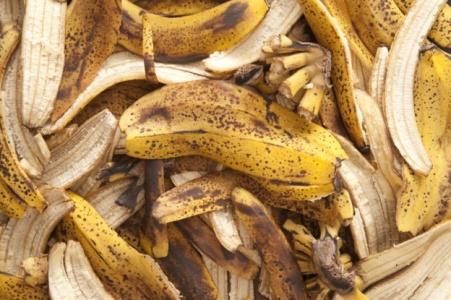 Банановые шкурки как удобрение