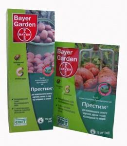 Применение удобрения Престиж для картофеля